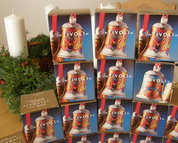 Rosenthal Tivoli Weihnachtsglocken Komplettserie 18 tlg.