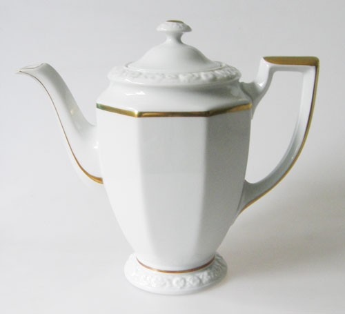 Rosenthal Maria Goldband Kaffeekanne für 6 Pers. 1,10 l