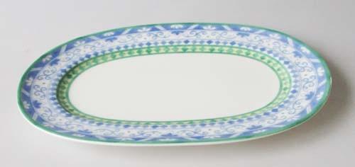 Villeroy & Boch Perugia Platte oval, klein 22x15,5 cm gebraucht