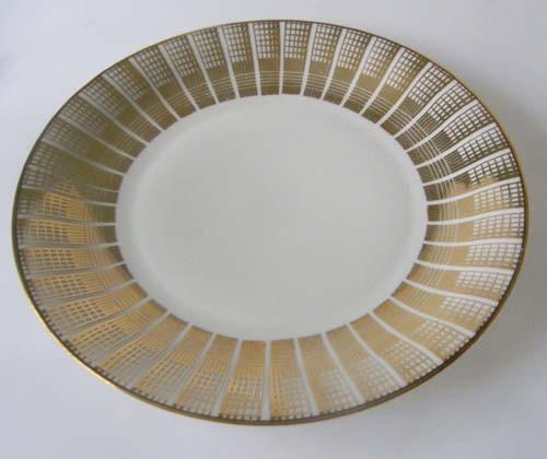 Johann Seltmann Vohenstrauss Golddekor 5200 Frühstücksteller 19,5 cm