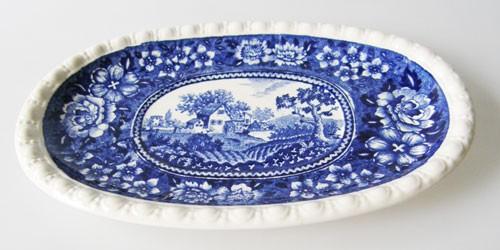 Villeroy & Boch Rusticana Unterteller klein, oval für die Buttersauciere
