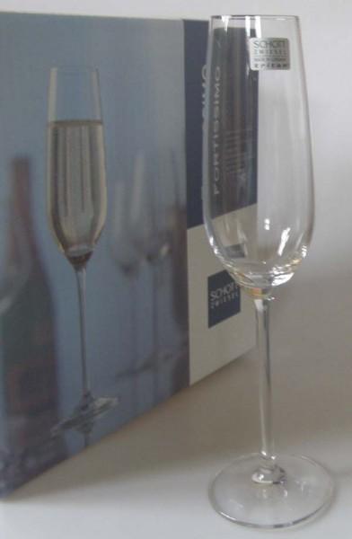 Schott & Zwiesel Fortissimo Sekt / Champagne mit Moussierpunkt K