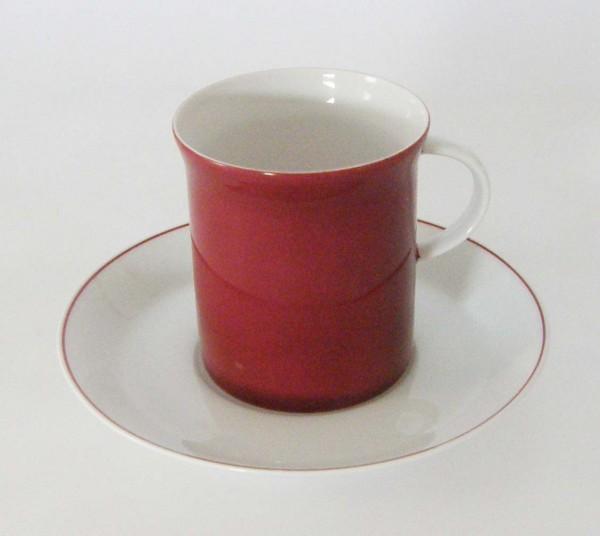 Rosenthal Berlin secunda Purpur Kaffeetasse mit Untertasse, 2-tlg.