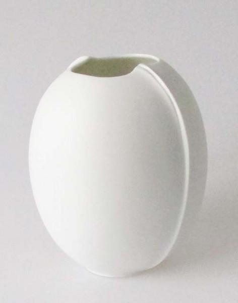 Hutschenreuther Vase Weiss Matt Hohe 15 Cm Markenporzellan24