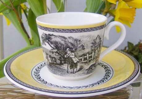Villeroy & Boch Audun Ferme Kaffeetasse mit Untertasse 2-tlg.