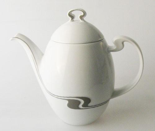 Rosenthal Asimmetria Grauraster Kaffeekanne 1,50 l