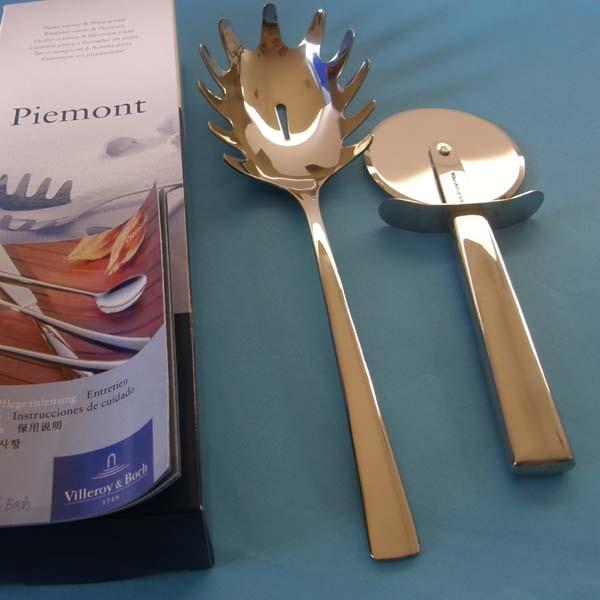 Villeroy & Boch Piemont Pastaservierer & Pizzarad