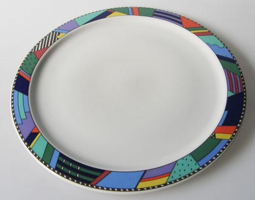 Rosenthal Scenario Metropol Frühstücksteller 22,3 cm