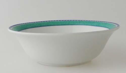 Winterling Dessert-/Kompottschüssel, klein (Ø 13,5 cm) Randdekor blau grün