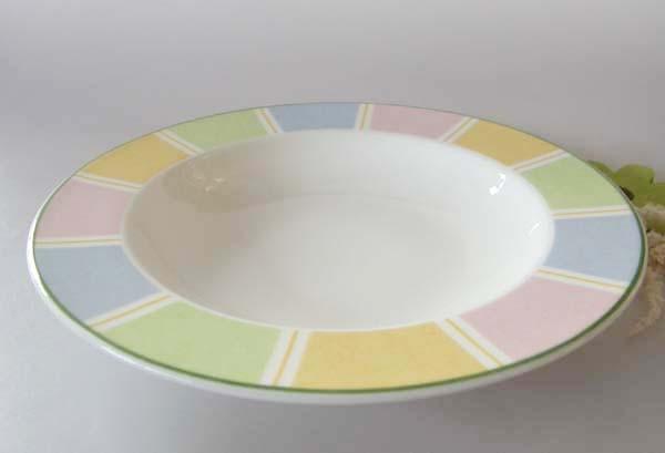 Villeroy & Boch Twist Colour Stripes Suppenteller 23 cm