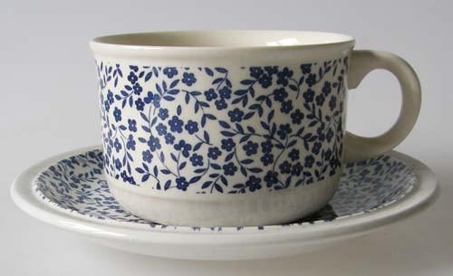 England Royal Tudor Daybreak blau Kaffee-/Teetasse mit Untertasse 0,20 l