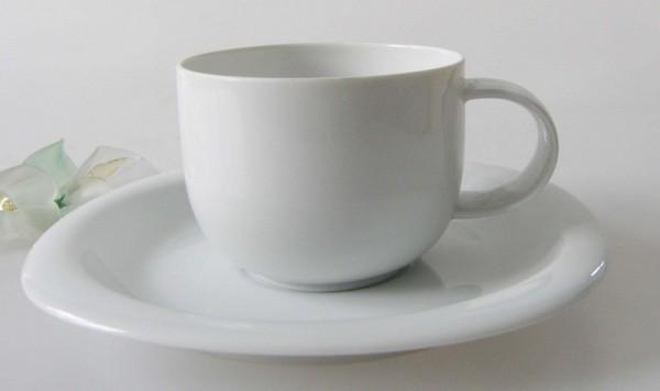 Rosenthal Suomi weiss Kaffeetasse mit Untertasse 2-tlg. 0,18 l