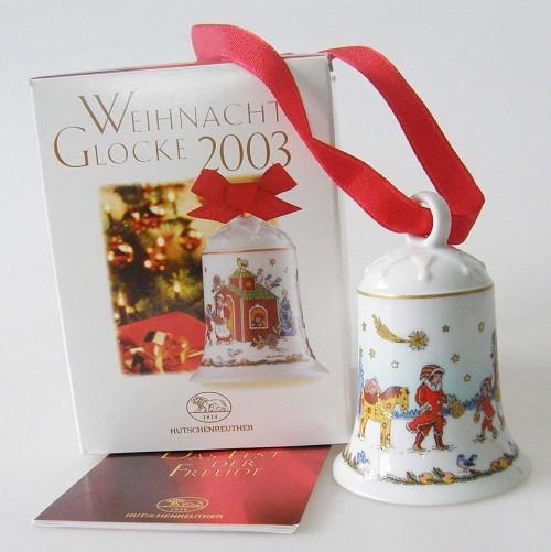 Hutschenreuther Porzellan Weihnachtsglocke Im Nordwald 2003