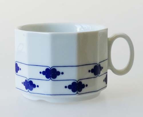 Rosenthal Polygon Korinth Kaffee/Teetasse Höhe 6 cm Gastro/Hotelporzellan
