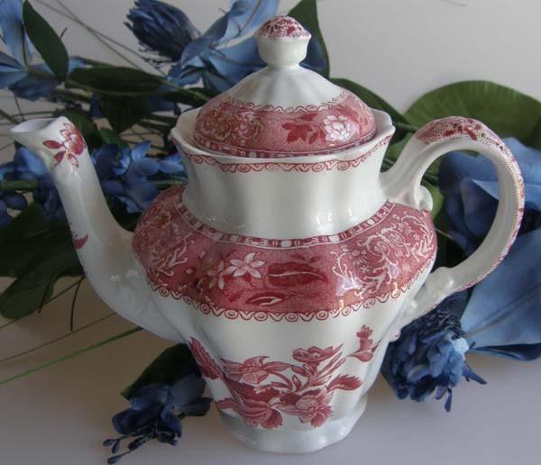 Spode Copeland Camilla Pink Kaffeekanne 1,25 l