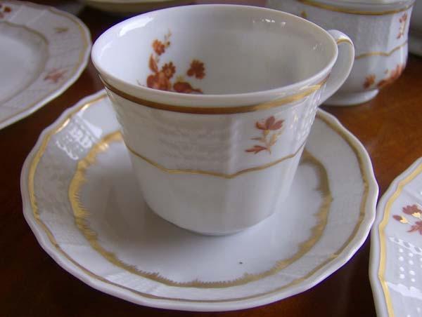 Heinrich Chateau Alegre Mokka- auch Espressotasse mit Untertasse, 2-tlg. 0,10 l