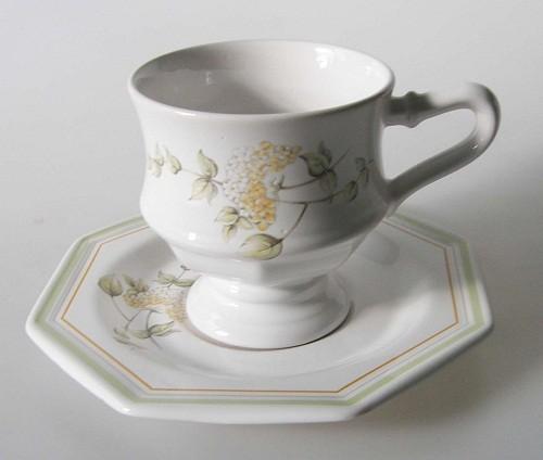 Gallo Leonardo Hortensia Kaffeetasse, 2 tlg. 2.Wahl