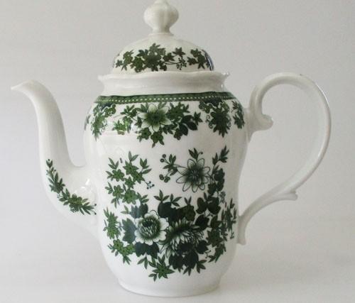 Seltmann Weiden Hubertus grün Blumen Kaffeekanne 1,2 l