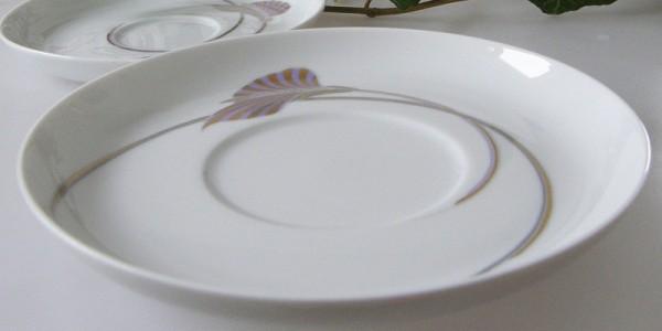 Rosenthal Asimmetria Goldblume Untertasse 17 cm Suppen - Untertasse