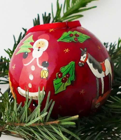Villeroy & Boch Christmas Eve 2012 Weihnachtskugel (Ø 10 cm)