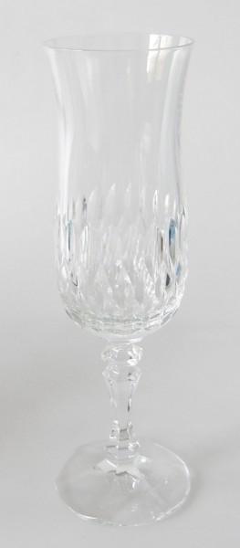 Zwiesel Sektglas 20,5 cm, Kristall mit Schliff