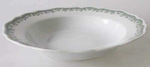 Hutschenreuther Maria Theresia Prater grün Suppenteller 23 cm