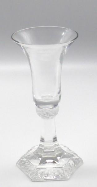 Rosenthal Glas Maria Kerzenleuchter Höhe 13,5 cm