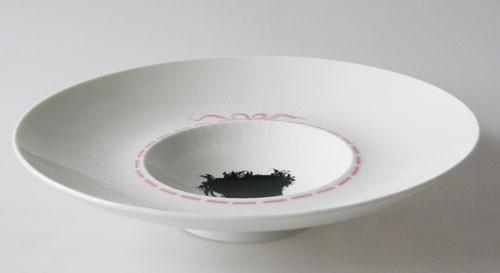 Rosenthal Romanze Silhouette Medaillon Schale 24,5 cm 2.Wahl