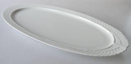 Rosenthal Mythos weiss Kuchenplatte lang 40 cm