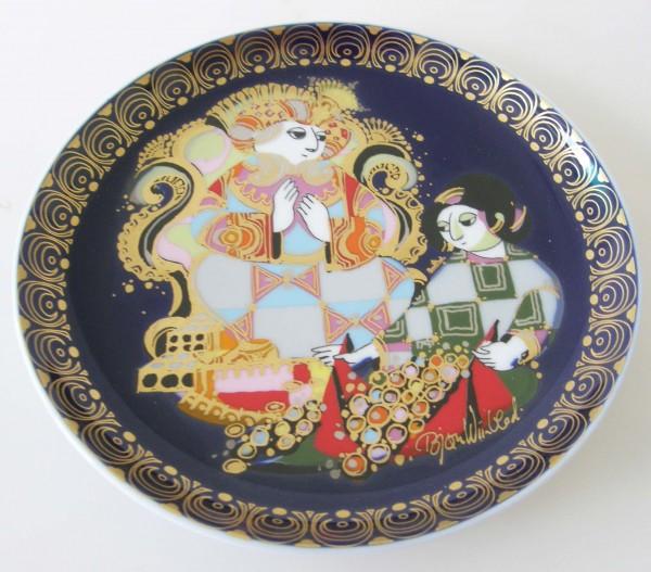 Rosenthal Aladin und die Wunderlampe 16,5 cm Sammel-Teller Nr.8