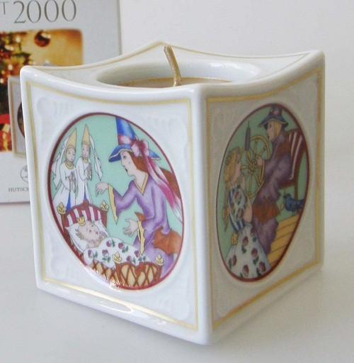 Hutschenreuther Porzellan Weihnachtsslicht Dornröschen 2000