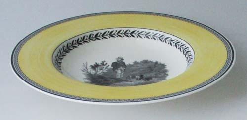 Villeroy & Boch Audun Chasse Suppenteller 24 cm gebr.