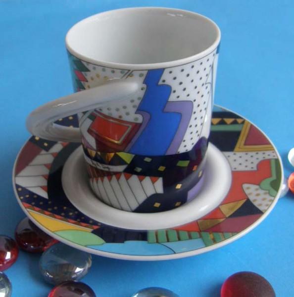 Rosenthal Cupola Espresso-Sammeltasse B.Doege Nr. 4