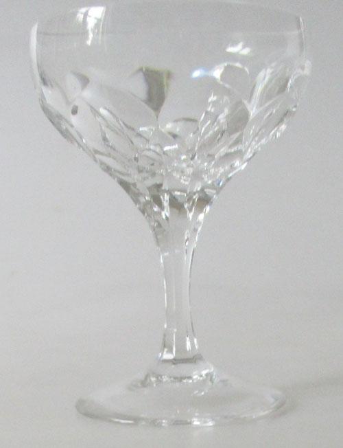 Durchm ROSENTHAL  LOTUS RELIEF  Weinglas für Rot-// Weisswein Höhe 15 cm 7 cm