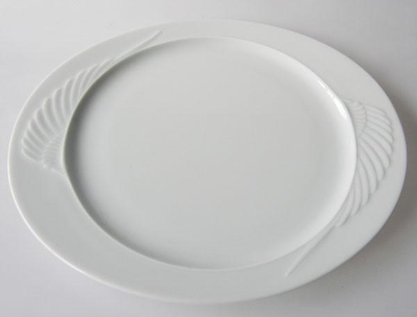 Rosenthal Mythos weiss Frühstücksteller 24 cm Kuchenteller
