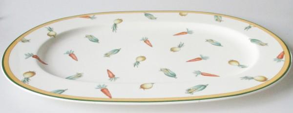 Villeroy und Boch A La Ferme Servierplatte oval 40,5 x 28 cm