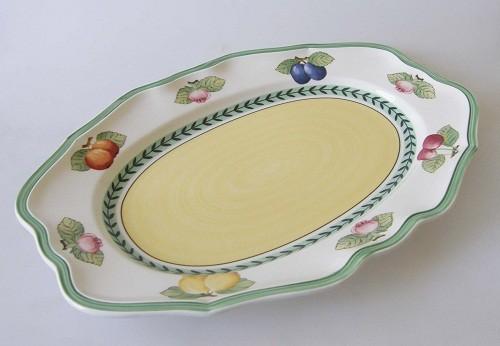 Villeroy & Boch French Garden Fleurence Platte oval 37 cm
