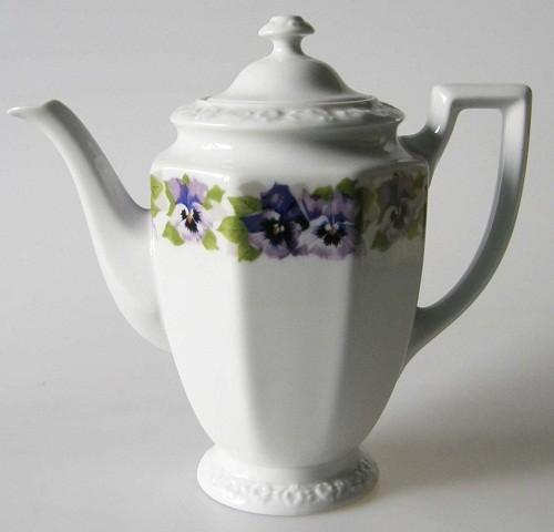 Rosenthal Stiefmütterchen Classic Rose Maria Kaffeekanne für 6 Pers. 1,10 l