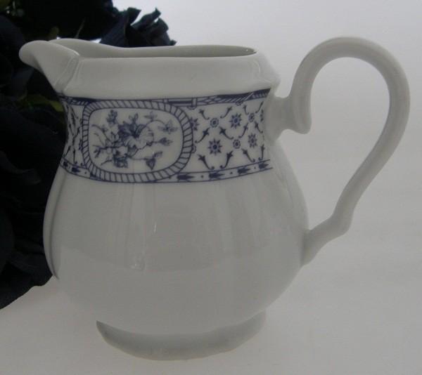 Thun Carlsbad blaues Landhausdekor Milchkännchen 0,25 l