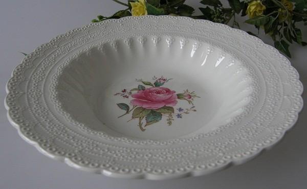 Spode Copeland Jewel Billingsley Rose Suppenteller 23 cm