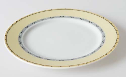 Winterling Brot-/Beilagenteller (Ø 17,5 cm) Ornamente gelb grau