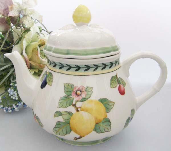 Villeroy & Boch French Garden Fleurence Teekanne 1,00 l