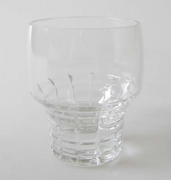 Rosenthal Polaris Glas Bleikristall Schnapsglas / Stamper 6,6 cm