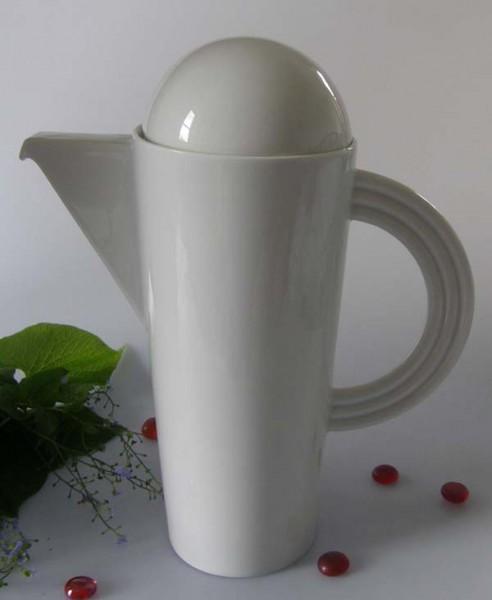 Rosenthal Cupola weiss Kaffeekanne für 6 Pers. 1,20 l