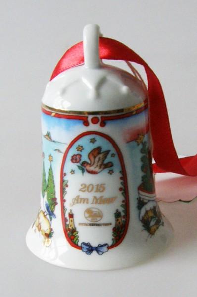 Hutschenreuther Porzellan Weihnachtsglocke 2015 Am Meer
