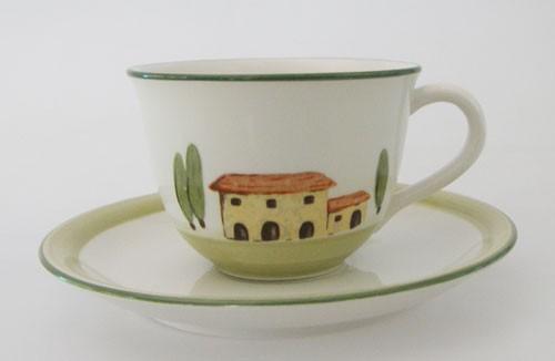 Bella Toscana Kaffeetasse 2-tlg. 0,25 l Zeller Keramik