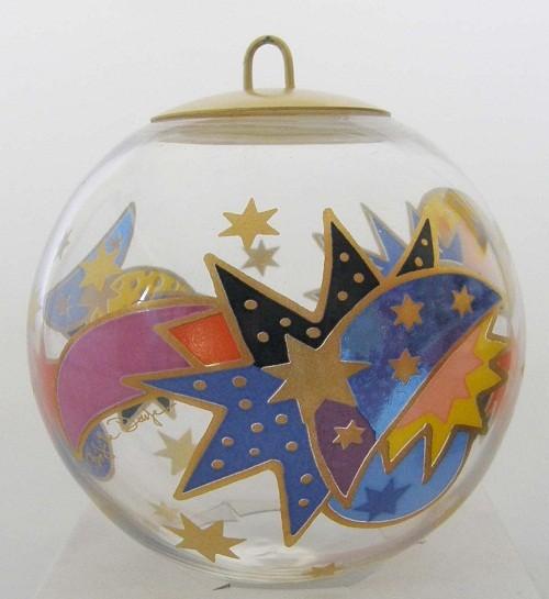 Rosenthal Glas Schmuckkugel Weihnachtsstern