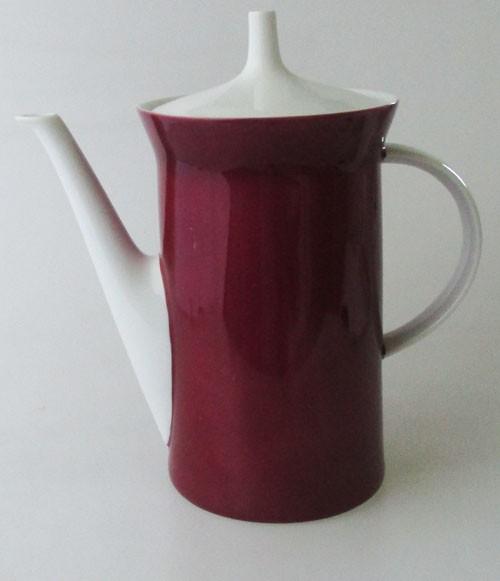 Rosenthal Berlin secunda Purpur Kaffeekanne 1,20 l