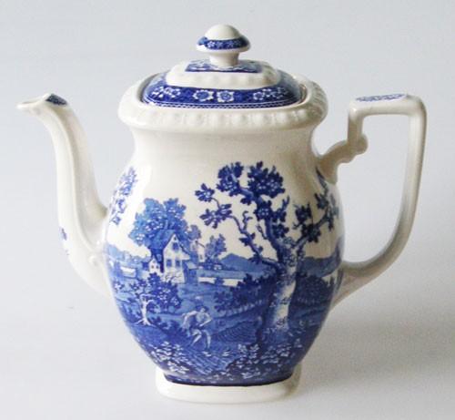Kaffeekanne klein Rusticana blau Mokkakanne 0,60 l Villeroy & Boch