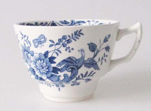 England Ridgway Windsor blau Kaffeetasse Höhe 6,5 cm
